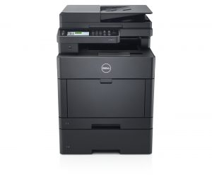 Dell H825cdw (Goshawk Cloud) multi-function printer, scanner, copier with the additional paper tray.